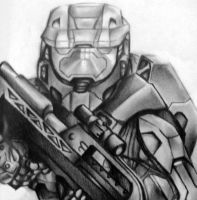 Master Chief by MailJeevas33