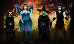 Evening of Samhain by Indiliel