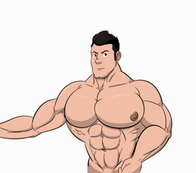Animated Bust: Flexing by DSz