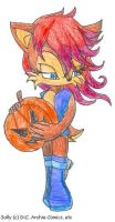 Sally - Pumpkin by SamCyberCat
