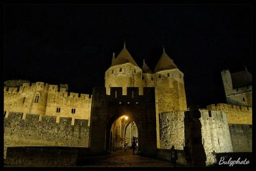 Carcassone, France by bulgphoto