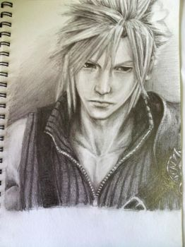 Final Fantasy VII- Cloud by Moryot