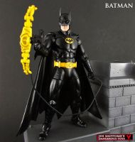 Custom vintage Toybiz style Batman figure by Jin-Saotome