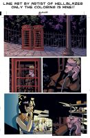 d: Hellblazer Colored pg 1 :b by nenuiel