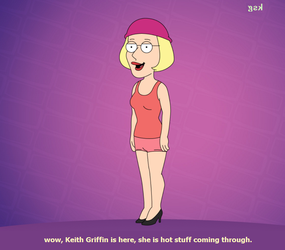 Miss Keith she is beautiful by boxingglovehands