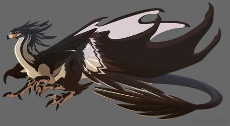[Character Auction] Avian Dragon [closed] by Dinkysaurus