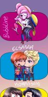 My favorite couples by kei111