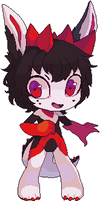 Pixel chibi for Badtabirs by Fivey