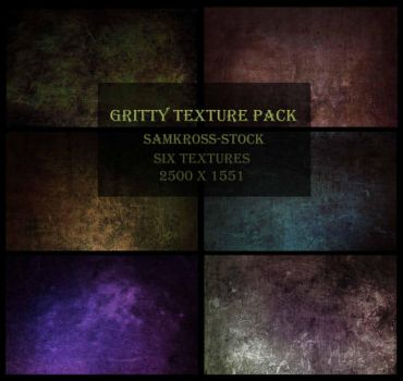 Gritty Texture Pack by SamKross-Stock