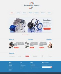 Romania Hydro Services - homepage web template by NedLand