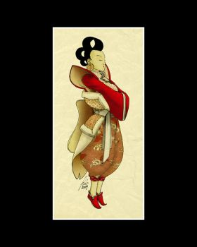 Geisha by rublav