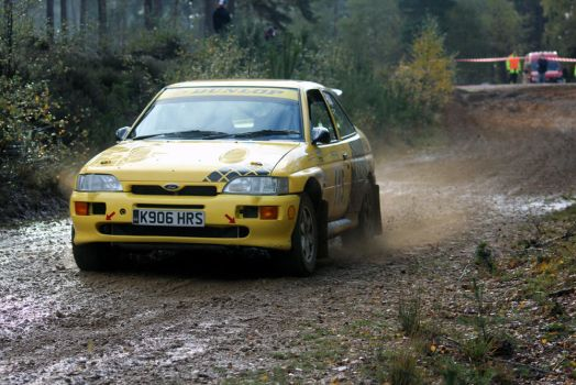 Escort Cosworth @ the Tempest Rally by adam-mccartney