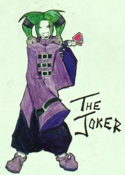 The Joker by GothicDespair