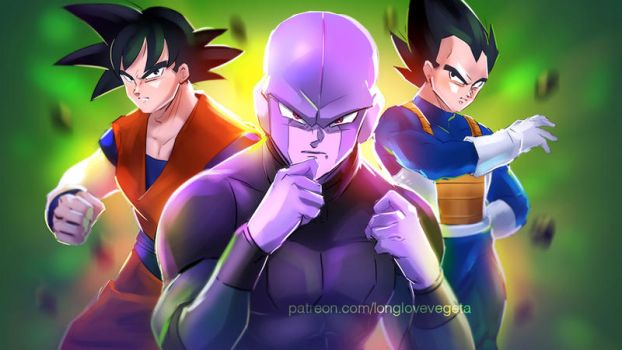 Dragonball Super - Hit Versus... by longlovevegeta