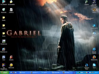 Gabriel Desktop by LonelySorceress