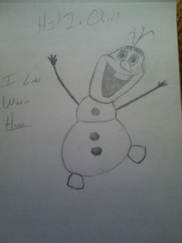OLAF!!! by animation0124
