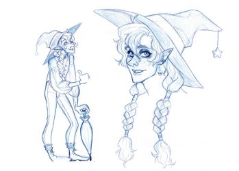 Some Taako Design by s0alaina