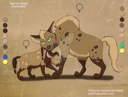 Mom and Daughter Hyenas - Adopts CLOSED by Nala15