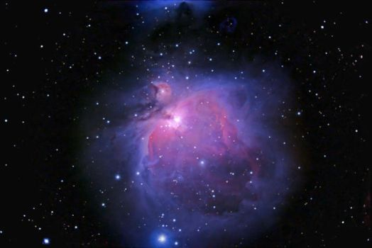 M42 - Orion Nebula by astrnmr