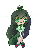 Jade pagedoll by DoodleBudgie