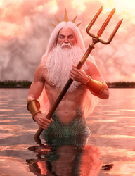 King Triton by tigerste
