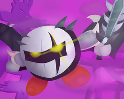 Dark Meta Knight's Return by Red-Ghost-Art