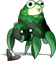 (June 2017 CDC) Day 20+21-Jason and Mossy Scuttler by GenoTheCreeper
