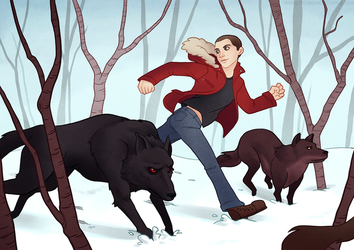 Running With Wolves by dhauber