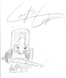 Knight- Castle Crashers by AnsemsHeartless
