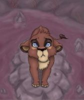 OC-Lion King by sparkyHERO