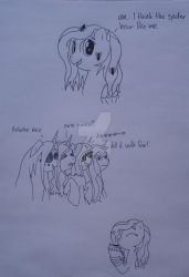 Spiders (Comic) by Elmer157Typhlosion