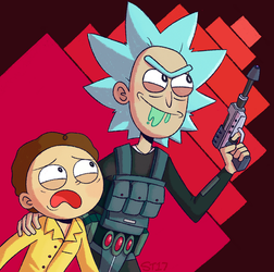 I WANT THAT SZECHUAN SAUCE MORTY!! by ecokitty