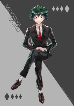 Suits: Midoriya by Astrovique