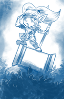 Sketch - Poppy from League of Legends by capitanusop