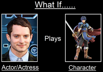 What If Elijah Wood Plays Marth by Willy276