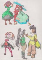 Top Quality Character Dump: Girls' Page (One Guy) by ToddNTheShiningSword