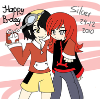Happy birthday Silver by Suu-ku