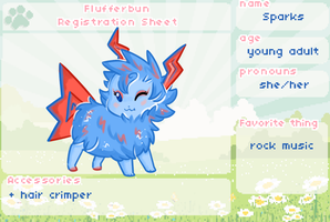 Sparks Registration Sheet by syrcaid
