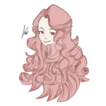 Some Pink haired girl by Autumnfire02