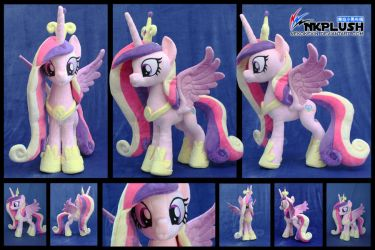 Princess Cadence plush by nekokevin