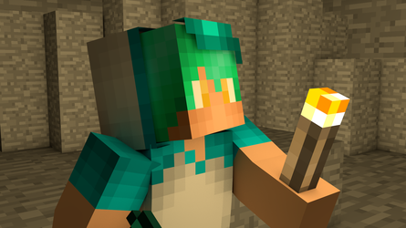 3D Model of my Minecraft skin by CelestialGaming