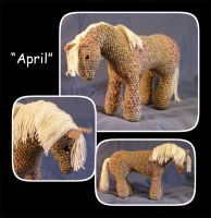 April--Crochet Horsie by MuseSusan