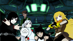 Ben and Team Rwby!! by imyouknowwho