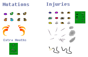 HS Base Sheet: Mutations and Injuries by FryingPanIsMyWeapon
