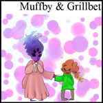 [Fanchild] Muffet and Grillbet REDONE by Lalibellie
