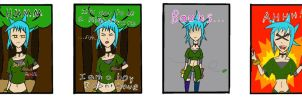 My Life as a Blue Haired Sorceress page 9 by epic-agent-63