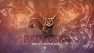 SMITE - Ratatoskr, the Sly Messenger (Wallpaper) by Getsukeii