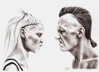 DIE ANTWOORD by keiraono