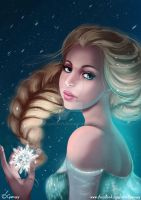 Frozen Queen + Process video by Gwennys