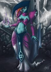 Veran, Sorceress of Shadows by VoidmageHusher